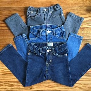 Cute 4T jeans and jeggings bundle!